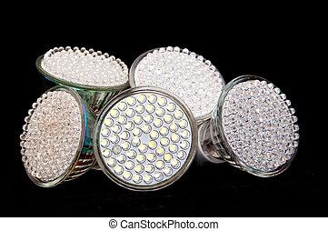 LED bulb - LED light bulb close up