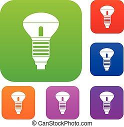 Led bulb set collection