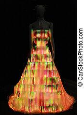 LED dress - Dress made out of LED lights