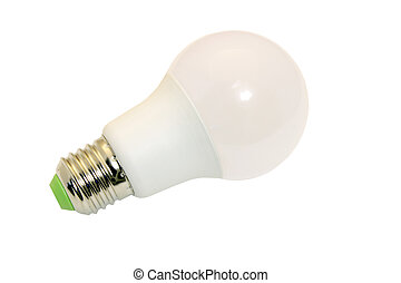 led energy saving light bulb