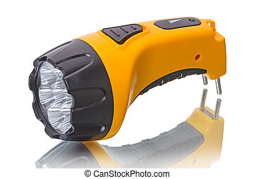 LED Flashlight with battery