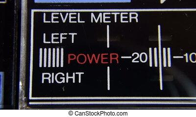 Led Indicator audio level