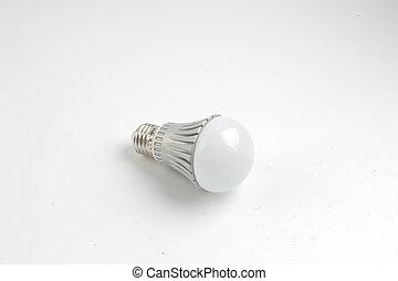 led lamp light bulb isolated on white background - led lamp ...