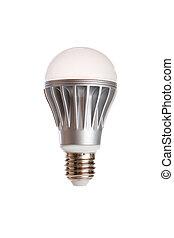 LED light bulb isolated on a white background