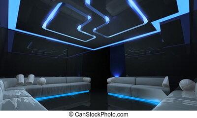 led light of Club Room