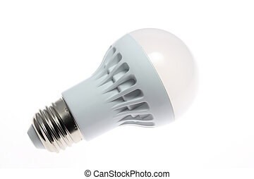 LED lightbulb - This is a picture of the LED light bulb type...
