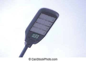LED lighting installed public lighting