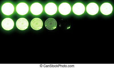 Led Lights Green 1 Real Lights