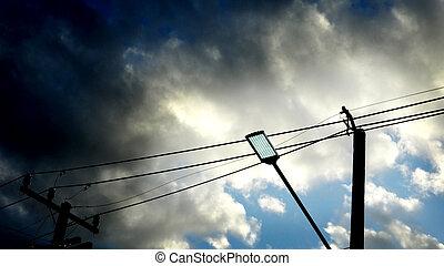 Light Emitting Diode street lighting - LED or Light Emitting...