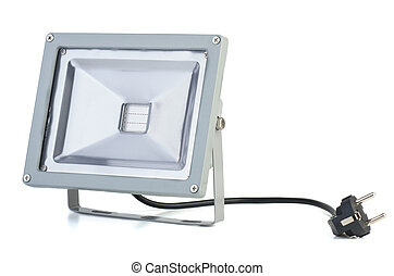 LED plant growing floodlight