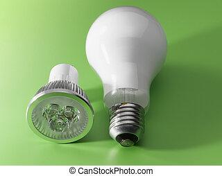LED v/s Light Bulb