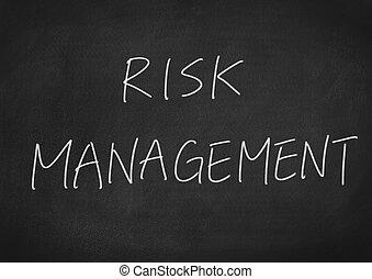 ledelse, risiko