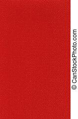 leder, boek, oud, rood