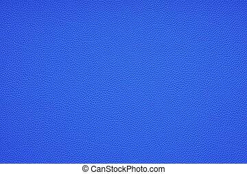 leder, hintergrund, blaues, beschaffenheit