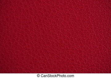leder, rood, textuur