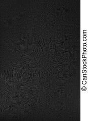 leder, textuur, achtergrond, blackish