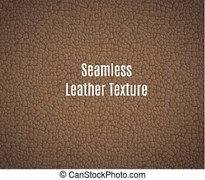leder, vector, seamless, textuur