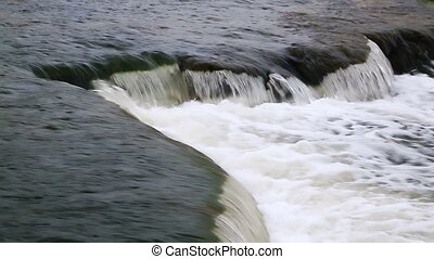 Ledge Plunge Loop - Loop features water splashing over an...