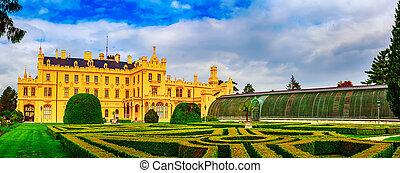 Lednice Palace, Czech Republic