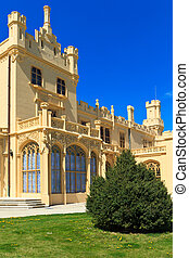 Lednice palace is one of the most impressive and most...