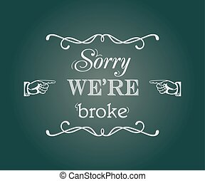 ledsen, we're, pankt