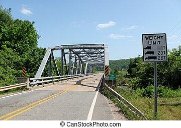 Lee Creek Crossing - A nice bridge from our past. Arkansas ...