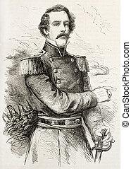 Lee - General Robert Edward Lee old engraved portrait....