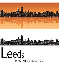 Leeds skyline
