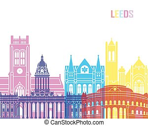 Leeds V2 skyline pop