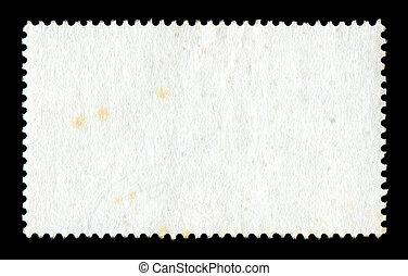 leeg, postzegel, achtergrond
