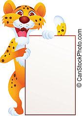 leeg teken, cheetah