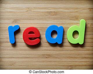 leer, concepto