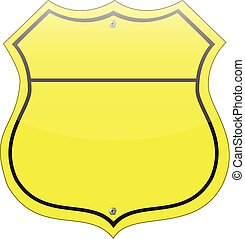 warnung gelber gefahr leer gelbes zeichen warnung gefahr leer wei es. Black Bedroom Furniture Sets. Home Design Ideas
