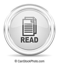 leer, icono de internet