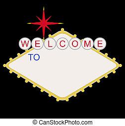 leer, las vegas, herzlich willkommen, las, zeichen