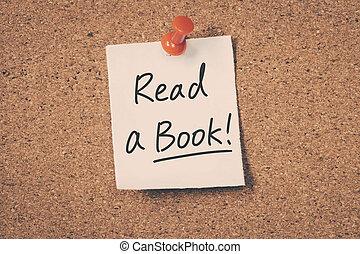 leer, libro