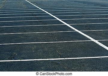 leerer , parkplatz, hintergrund