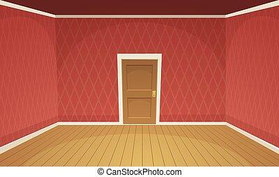 Zimmer leerer lebensunterhalt illustration raum for Leeres zimmer