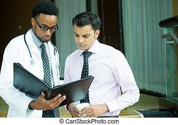 leergierig, gezondheidszorg deskundigen