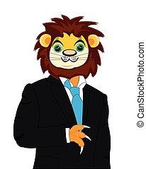 leeuw, kostuum