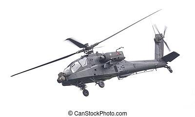 LEEUWARDEN, THE NETHERLANDS - JUN 11, 2016: Boeing AH-64...
