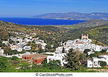 Lefkes traditional village, Paros island, Greece