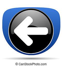 Left arrow web icon