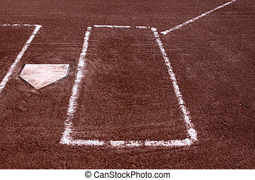Left Batters Box