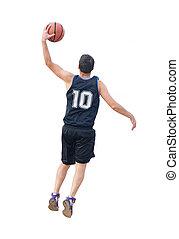 left dunk