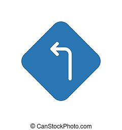 left  glyph color icon