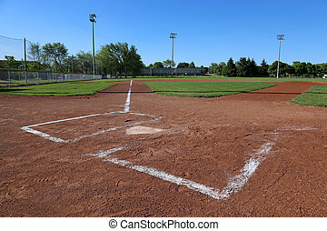 Leftside Low Angle Ball Field