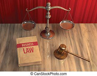 legal, attributes:, gavel, escala, e, livro lei