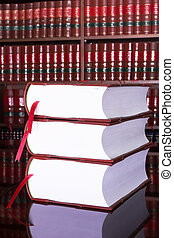 Legal books #16 - Legal books on table - South African Law...