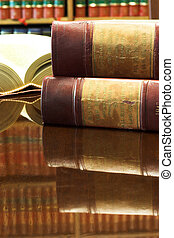 Legal books #27 - Legal books on table - South African Law...